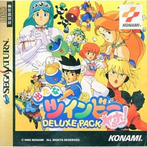Detana TwinBee Yahho! Deluxe Pack [SAT - Used Good Condition]