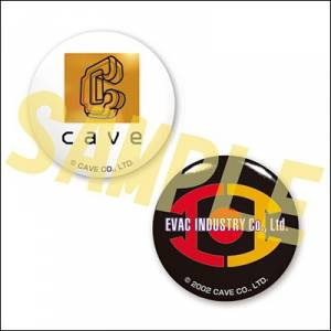 Ketsui & Cave - Badges x 2