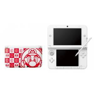 Nintendo 3DS LL (XL) - Mario White [Brand New]
