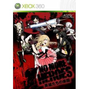 No More Heroes - Eiyûtachi No Rakuen + flyer (X360)
