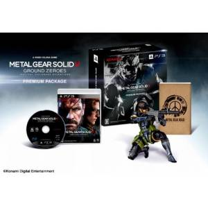 Metal Gear Solid V Ground Zeroes - Amazon.co.jp Premium Package [PS3 - Used Good Condition]