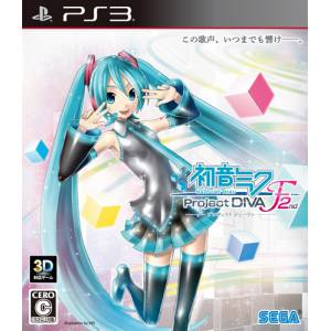 Hatsune Miku - Project Diva F 2nd [PS3 - Used Good Condition]