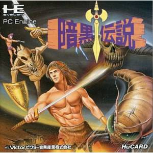 Ankoku Densetsu - Legendary Axe 2 [PCE - used good condition]