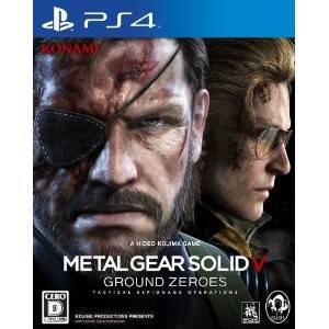 Metal Gear Solid V Ground Zeroes - Standard Edition [PS4 - used]