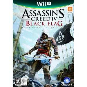 Assassin's Creed 4 Black Flag [Wii U- Used]