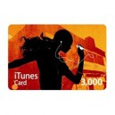 iTunes Music Card ¥3,000 [for Japanese account]