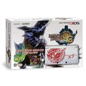 Nintendo 3DS - Monster Hunter 3G Special Pack [Used]