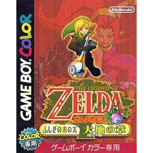 Zelda no Densetsu - Fushigi no Ki no Mi - Daichi no Shou / Oracle of Seasons [GBC - Used Good Condition]