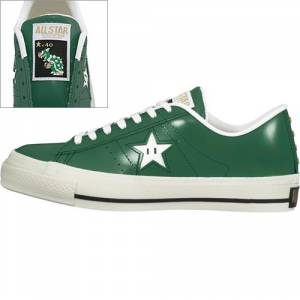 Converse × Super Mario - Green Version [Fashion]