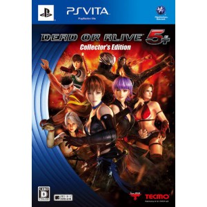 Dead or Alive 5 Plus - Collector's Edition [PSVita - Used Good Condition]