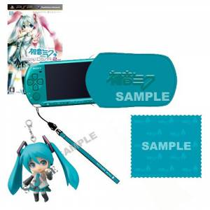 PSP-3000 Hatsune Miku Project Diva 2nd [Brand new]