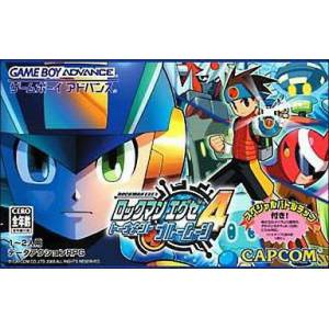 Rockman Exe 4 - Tournament Blue Moon / MegaMan Battle Network 4 [GBA - Used Good Condition]