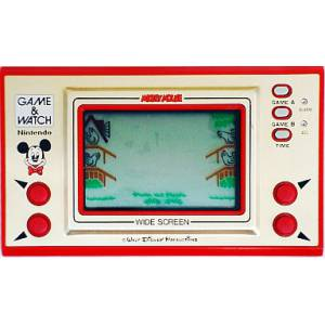 Mickey Mouse - Wide Screen MC-25 - used / no box [Game & Watch]
