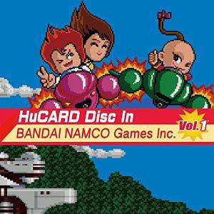 HuCard Disc In BANDAI NAMCO Games Inc.Vol.1 (3 CD) [OST]