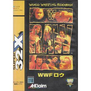 WWF Raw [32X - Used Good Condition]