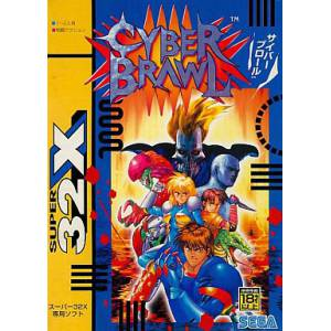 Cyber Brawl / Cosmic Carnage [32X - Used Good Condition]