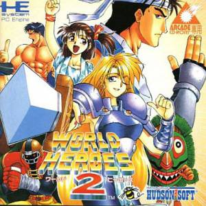 World Heroes 2 [PCE ACD - used good condition]