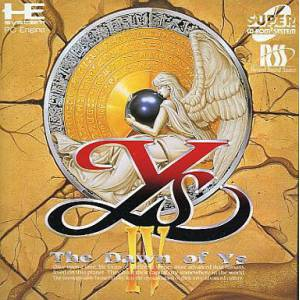 Ys IV - The Dawn of Ys [PCE SCD - occasion BE]