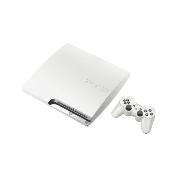 acheter console playstation 3 slim 320gb classic white. Black Bedroom Furniture Sets. Home Design Ideas