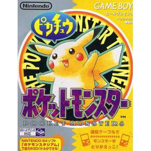 Pocket Monster - Pikachu / Pokemon Jaune [GB - occasion BE]