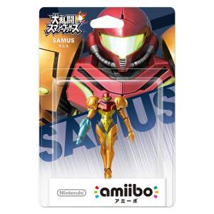 Amiibo Samus - Super Smash Bros. series Ver. [Wii U]