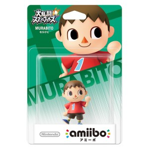Amiibo Murabito - Super Smash Bros. series Ver. [Wii U]