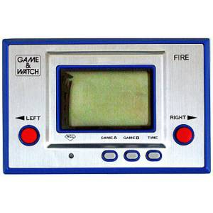 Fire - Silver RC-04 - occasion / loose [Game & Watch]