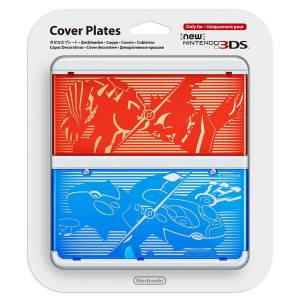 Cover Plates - No. 40 - Pokemon Alpha Sapphire & Omega Ruby edition [New 3DS]