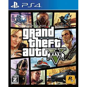 Grand Theft Auto V - 1st print [PS4]