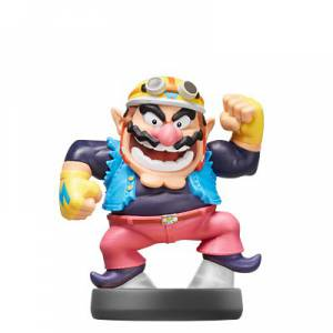 FREE SHIPPING - Amiibo Wario - Super Smash Bros. series Ver. [Wii U]