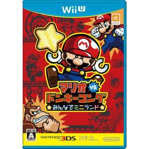 Mario Vs Donkey Kong Minna de Mini-Land [Wii U]