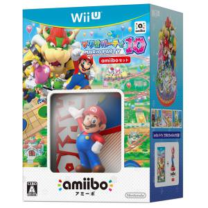 FREE SHIPPING - Mario Party 10 - Amiibo Set [Wii U]