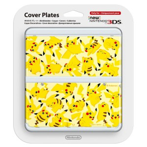 Cover Plates - No. 57 - Pikachu [New 3DS]