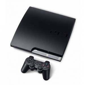 PlayStation 3 Slim 160GB Charcoal Black [used]