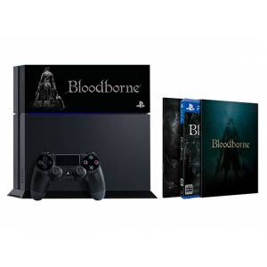 PlayStation 4 Jet Black - Bloodborne Limited EDITION [PS4 - brand new]