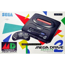 Mega Drive 2 - Complete in box [Used Good Condition]