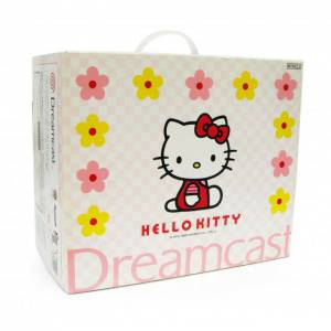 Dreamcast Hello Kitty Bundle Skeleton Pink - En boite [Occasion BE]