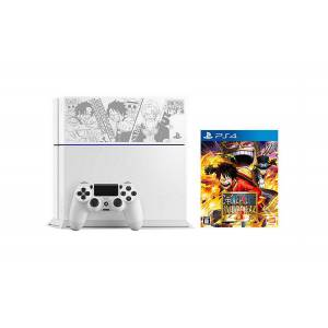 PlayStation 4 Glacier White - One Piece Kaizoku Musou 3 Limited EDITION [PS4 - brand new]