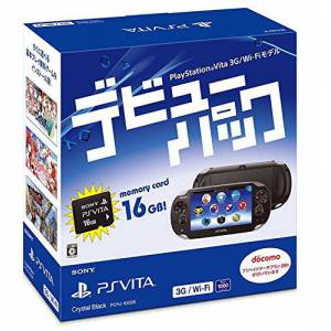 PSVita Slim Debut Pack - Crystal Black 3G/Wifi [new]