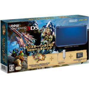 New Nintendo 3DS LL (XL) Monster Hunter 4G New Hunter pack  [New 3DS Brand New]