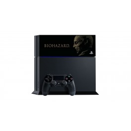 PlayStation 4 Jet Black Resident Evil / Biohazard Zombie Version Limited EDITION [PS4 - brand new]