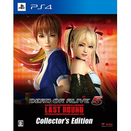DEAD OR ALIVE 5 Last Round - Collector's Edition [PS4]