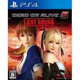DEAD OR ALIVE 5 Last Round - standard edition [PS4]