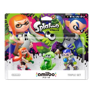 Amiibo Triple Set - Splatoon series Ver. [Wii U]