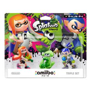 Amiibo Triple Set - Splatoon series Ver. [Wii U]