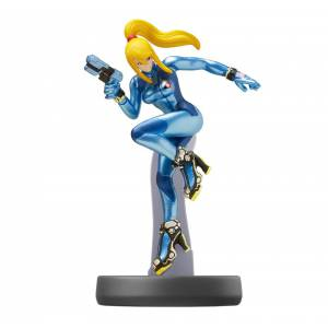 Amiibo Zero suit Samus - Super Smash Bros. series Ver. [Wii U]