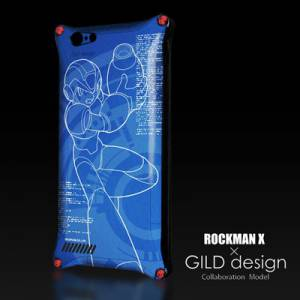 Rockman X - GILD design × E Capcom iPhone 6 Case & Protection Sheet [Goods]