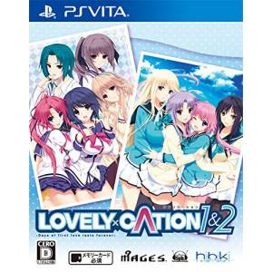 FREE SHIPPING - Lovely x Cation 1&2 - Standard Edition [PS Vita]