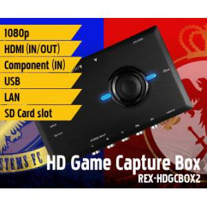 HD Game Capture & Stream Box REX-HDGCBOX2 [Hi-tech]