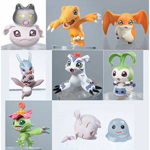 Digimon Adventure - DigiColle! DATA1 8 pieces BOX [MegaHouse]
